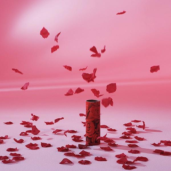 Tischfeuerwerk Rosen