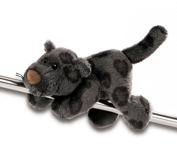 MagNICI Plüschpanther, magnetische Pfoten anthrazit, 12cm