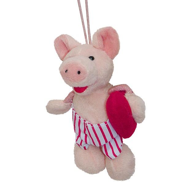 Lovely Schwein mit Herz