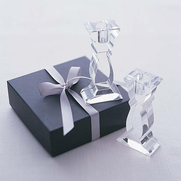Glas-Kerzenhalter Aphrodite, 2er Set