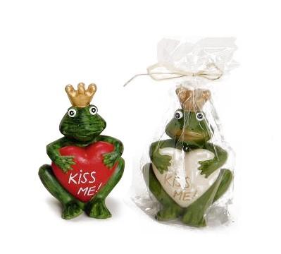 Kerze Froschkönig