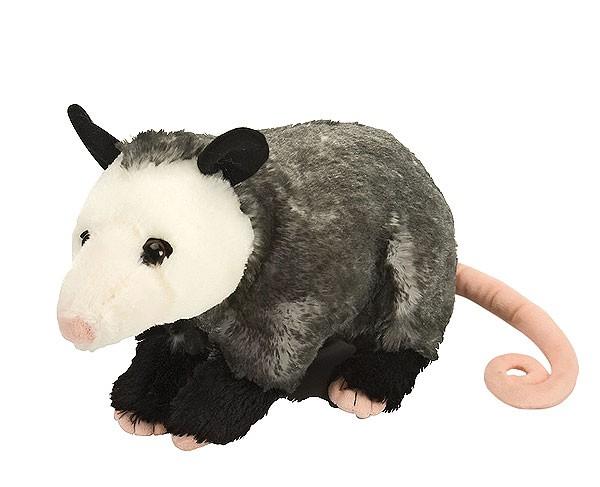 Opossum Didelphis virginiana aus Plüsch