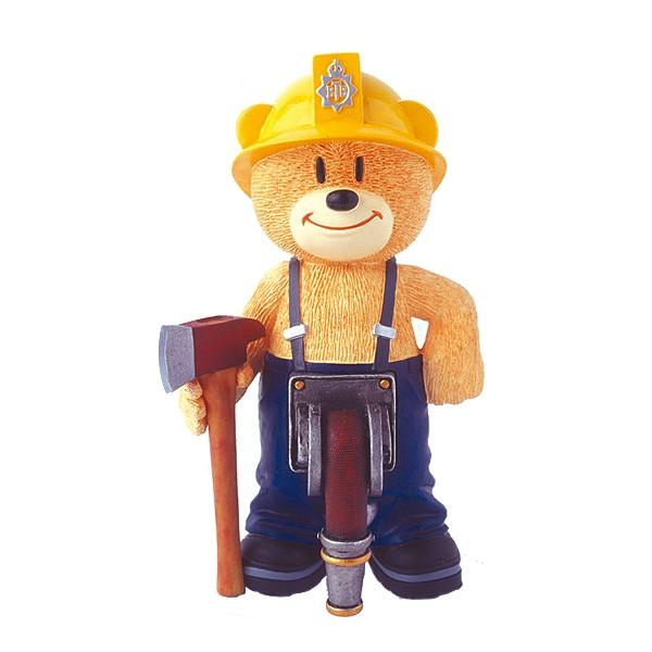 SAM, der Feuerwehrmann der Bad Taste Bears