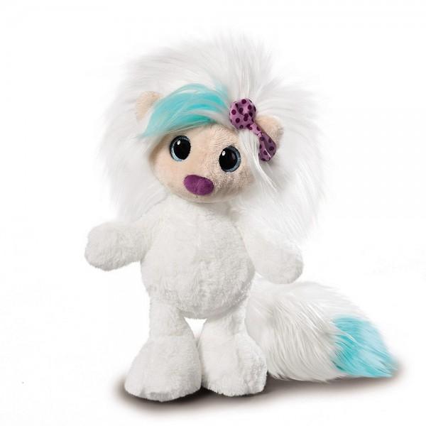 Weiße Plüsch-Puppe Ayumi Hope von NICI, 38 cm
