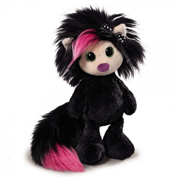 Plüsch-Puppe AYUMI Secret in schwarz von NICI, 38 cm