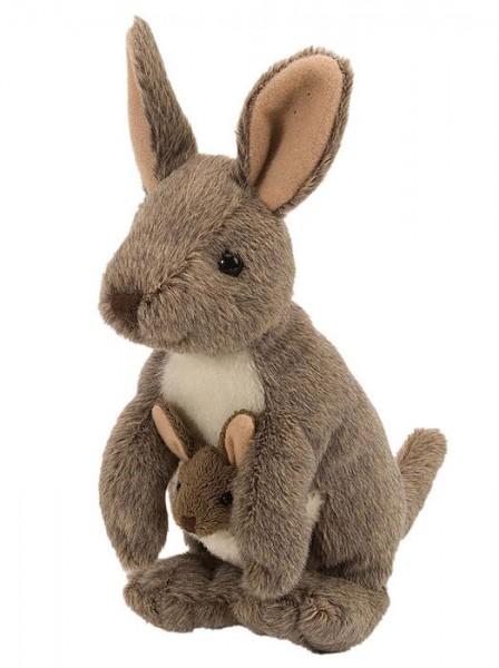 Plüschtier Känguru mit Baby im Beutel von Wild Republic Cuddlekins