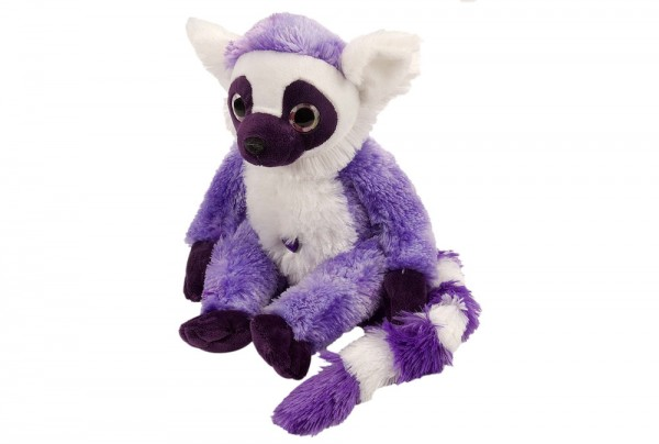 Lemur-Äffchen in Purple