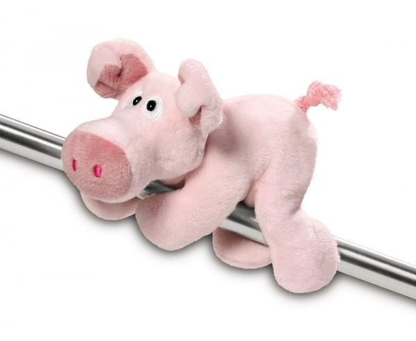 NICI rosa Plüsch-Schwein mit magnetischen Pfoten, MagNICI