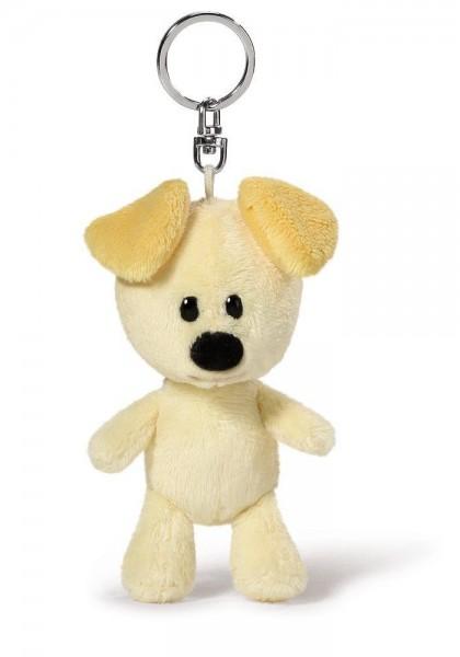 Schlüssel-Anhänger Plüschhund Pip, beige-gelb von NICI
