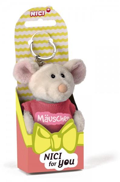 Schlüsselanhänger Plüschmaus Mäuschen von NICI