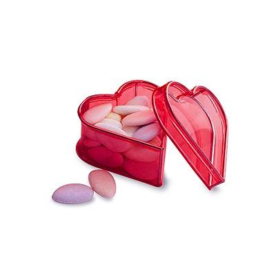Geschenkbox-Herz, flexible Bespannung, mini