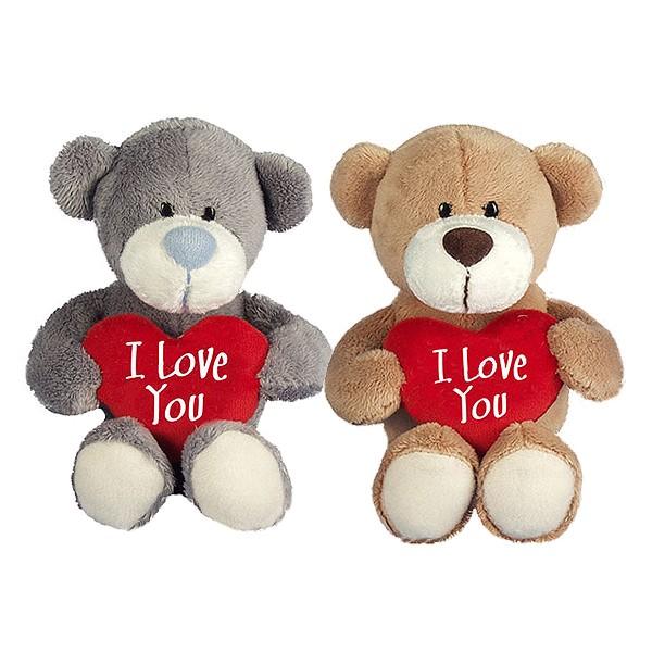 I-Love-You Bär mit Herzkissen