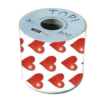 Toilettenpapier Hearts