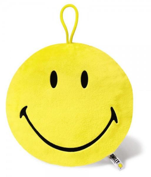 Wärmflasche in rundem Smiley-Überzug, gelb von NICI