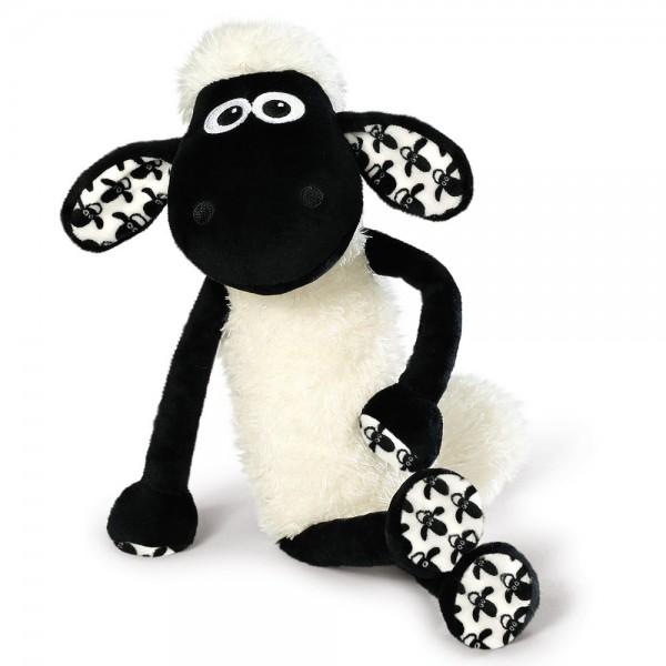 Plüschtier Shaun das Schaf mit Schaf-Allover-Muster, 45cm von NICI