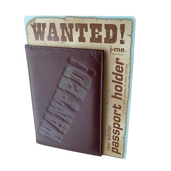 Leder Reisepassetui Wanted